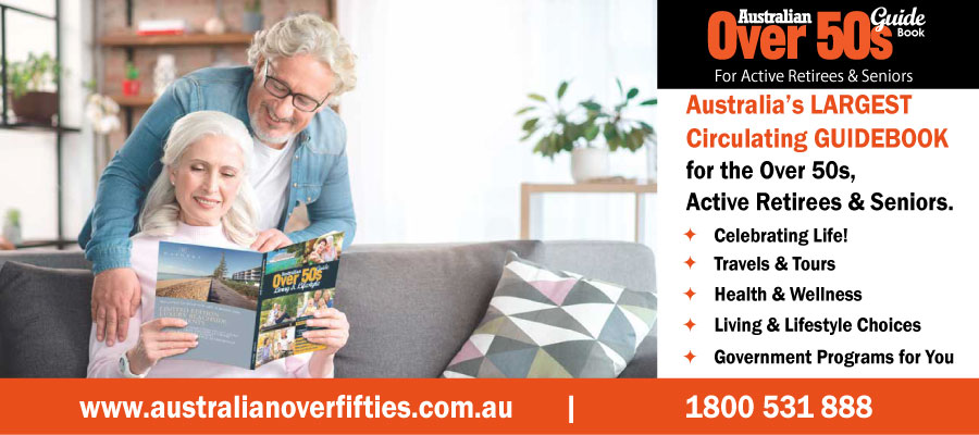 Australian Over 50s Living & Lifestyle Guide