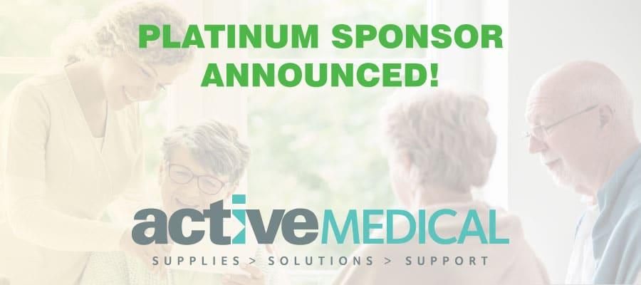 Active Medical Supplies Join As Platinum Sponsor